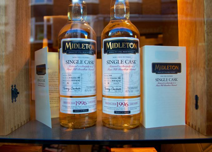 Midleton pot still Irish whiskey