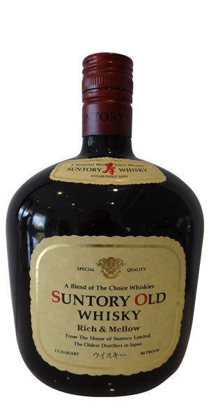 Suntory Old Whisky, Rich & Mellow, bottled 1990s
