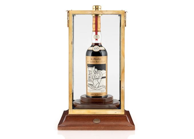 Macallan 1926 60-year-old Valerio Adami