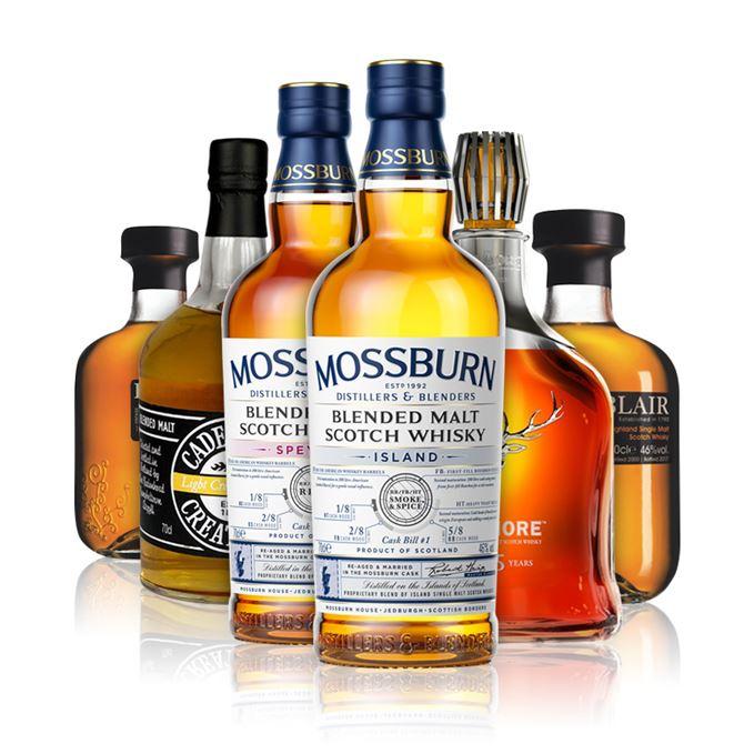 Batch 143: Mossburn blended malt, Balblair 1991 Balblair 2000, Cadenhead Creations, Dalmore 45