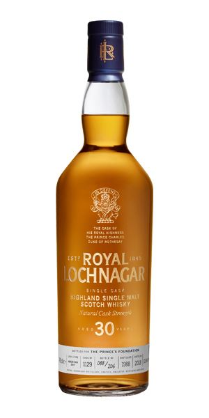 Royal Lochnagar 30 Years Old, Prince Charles Edition
