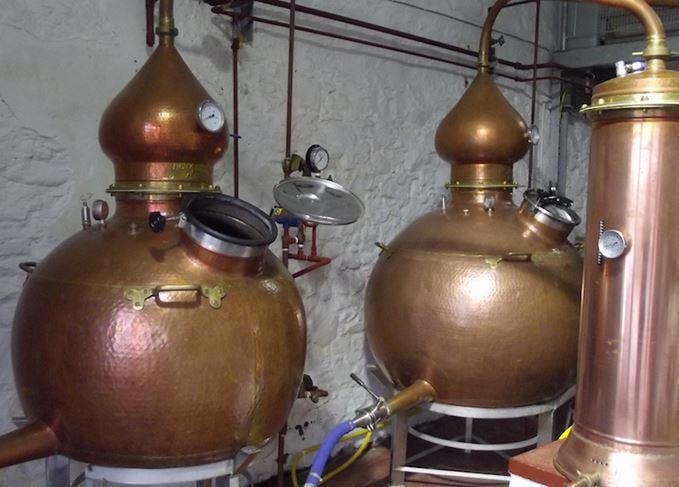 Stills at Strathearn distillery