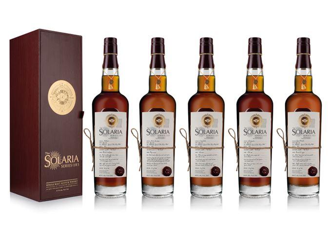 Solaria series Whisky Illuminati