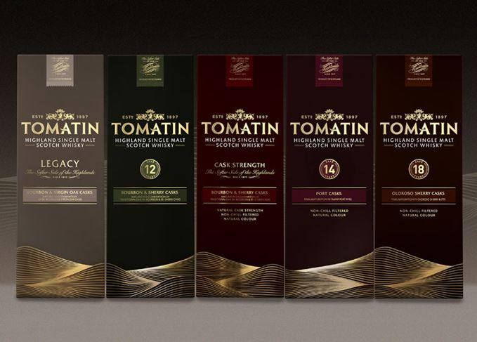Tomatin core range