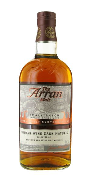 Isle of Arran 10 Years Old, Tuscan Wine Cask Matured (Royal Mile Whiskies)