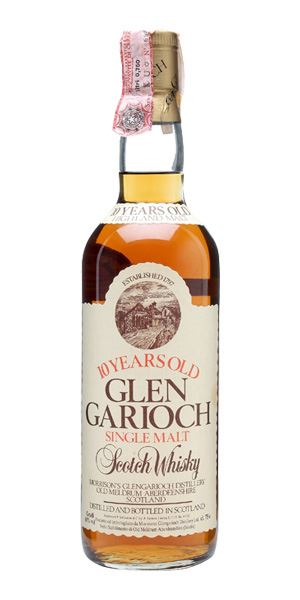 Glen Garioch 10 Years Old, bottled 1980s