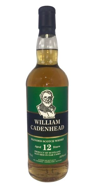 William Cadenhead 12 Years Old Blend, Batch 3
