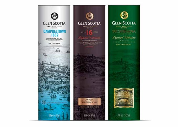 Glen Scotia Scotch travel retail