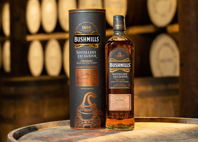 Bushmills Acacia Irish Whiskey Distillery Exclusive