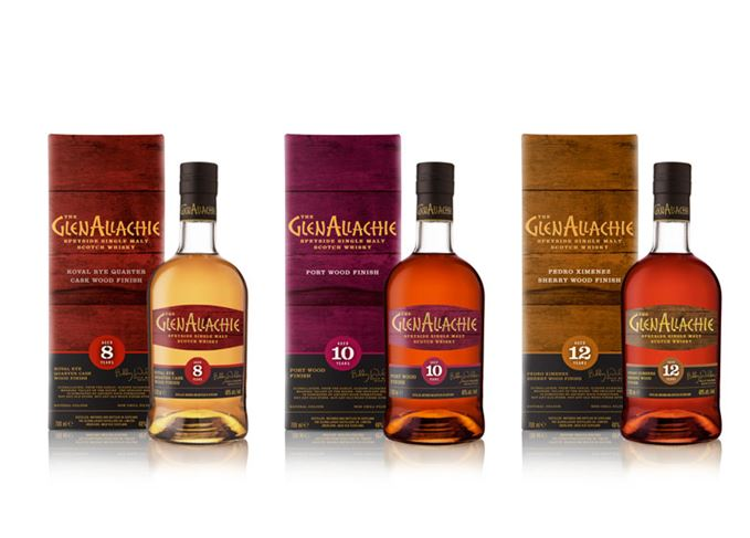 GlenAllachie's Wood Finish range