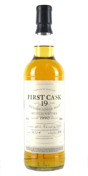 Ardmore 1990, 19 years old, Cask #30114 (First Cask)