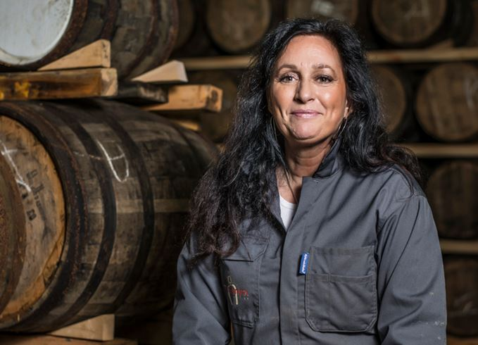 Angela D'Orazio, master blender at Mackmyra