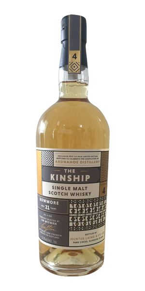 Bowmore 21 Years Old, The Kinship (Hunter Laing)