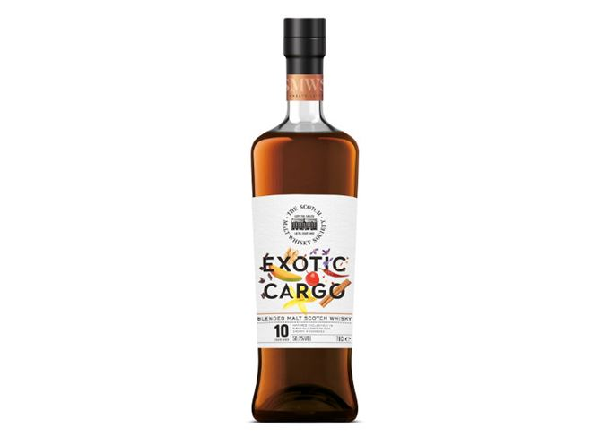 Exotic Cargo is SMWS's first blended malt