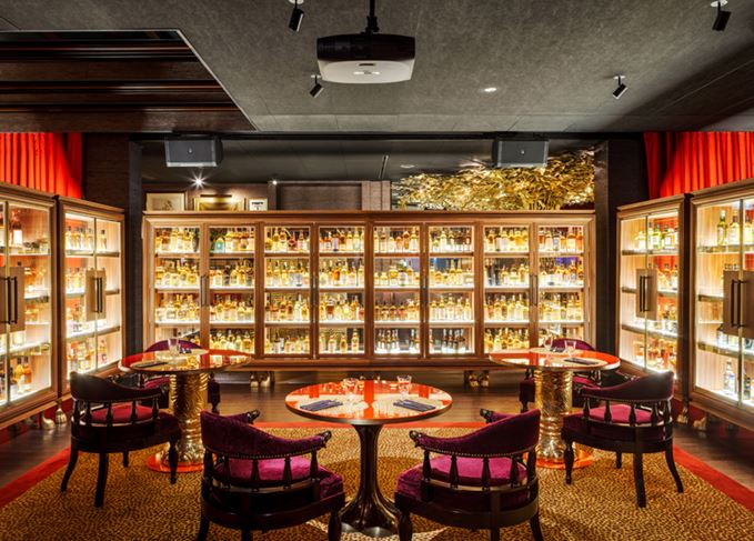 Vagabond Club's Whiskey Library in Rochor, Singapore
