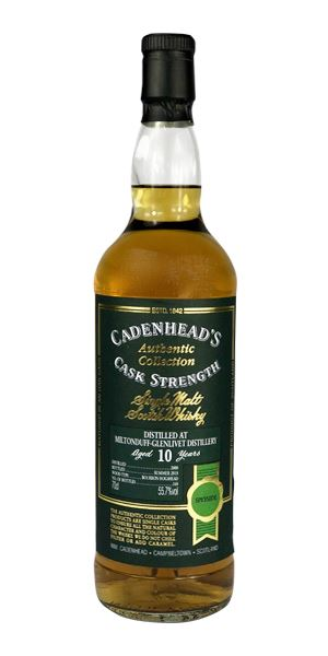 Miltonduff 10 Years Old, 2008 (Cadenhead)