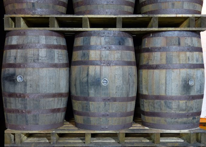 Whisky casks duty rise