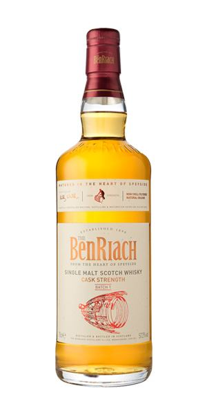 BenRiach Cask Strength, Batch 1
