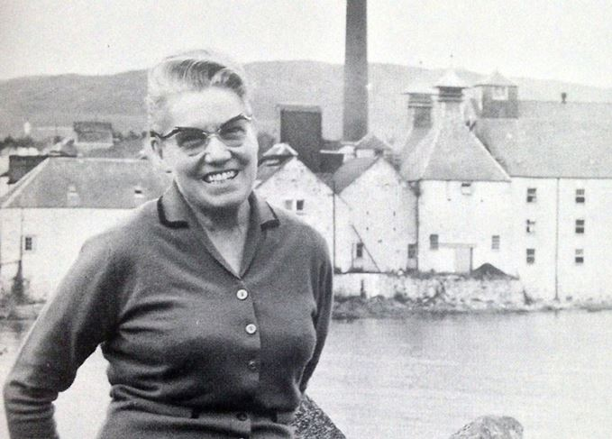 Bessie Williamson, former distillery manager of Laphroaig