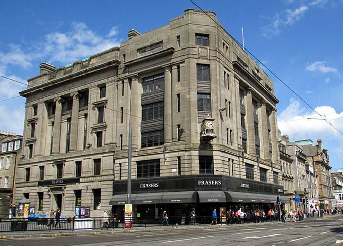 House of Fraser on Princes Street