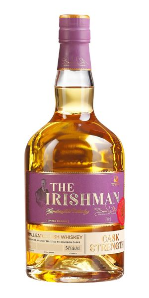 The Irishman Cask Strength, 2017 release