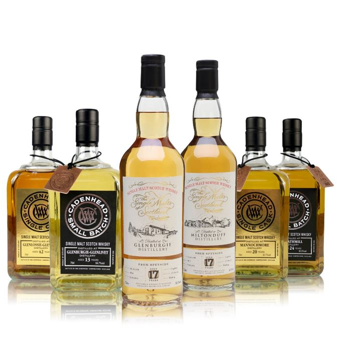 Batch 130: Glenburgie, Glenlossie, Mannochmore, Miltonduff and Strathmill