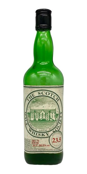 Bruichladdich 15 Years Old, 23.5, Bottled 1990 (SMWS)