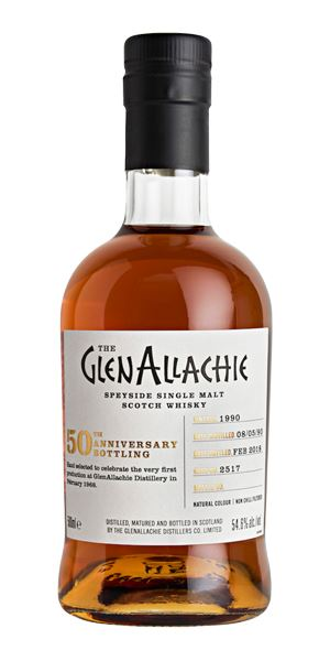 GlenAllachie 1990, 27 Years Old, Cask #2517