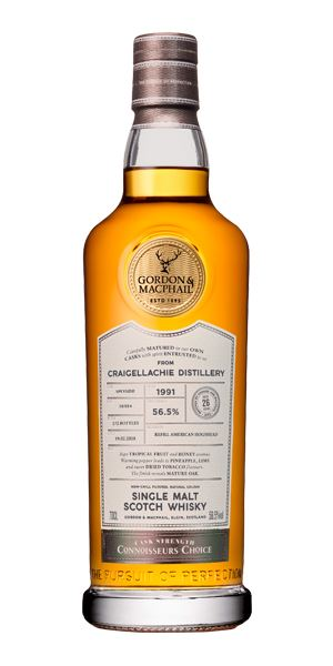 Craigellachie 26 Years Old, 1991, Connoisseurs' Choice (G&M)