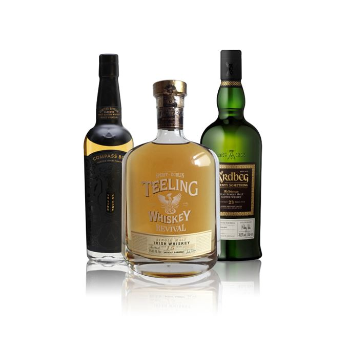 No Name, Teeling Revival IV, and Ardbeg Twenty Something