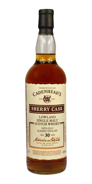 Bladnoch 30 Years Old (Cadenhead)
