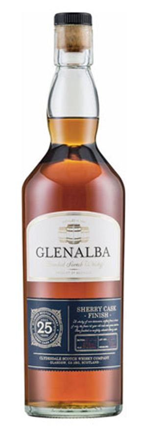 Glenalba 25 Years Old Sherry Cask Finish