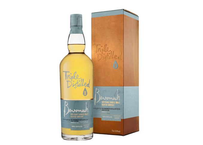 Benromach Triple Distilled is 'light and smoky'