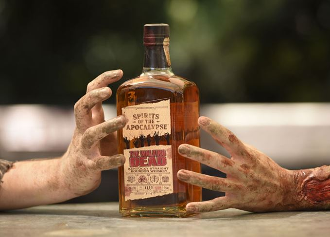 The Walking Dead Spirits of the Apocalypse Bourbon