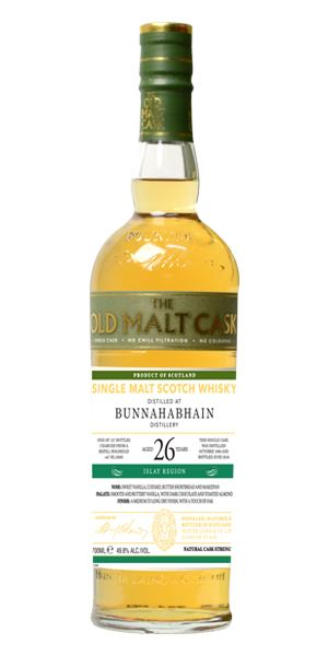 Bunnahabhain 26 Years Old (Hunter Laing)