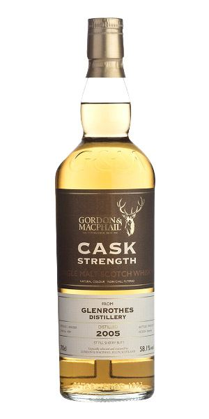 Glenrothes 2005 Cask Strength (Gordon & MacPhail)