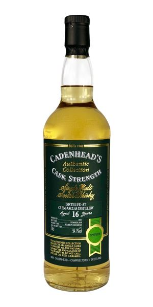 Glenfarclas 16 Years Old, 2001 (Cadenhead)