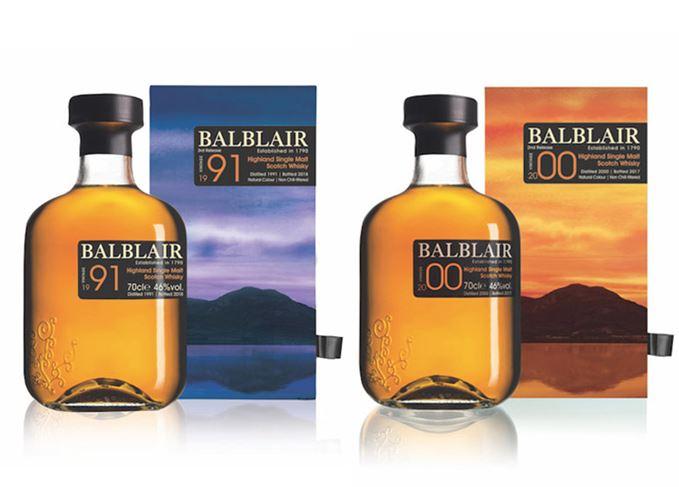 Balblair 1991 and 2000 vintage