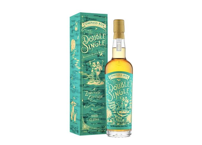 Double Single Compass Box