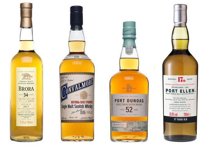 Diageo Special Releases 1017