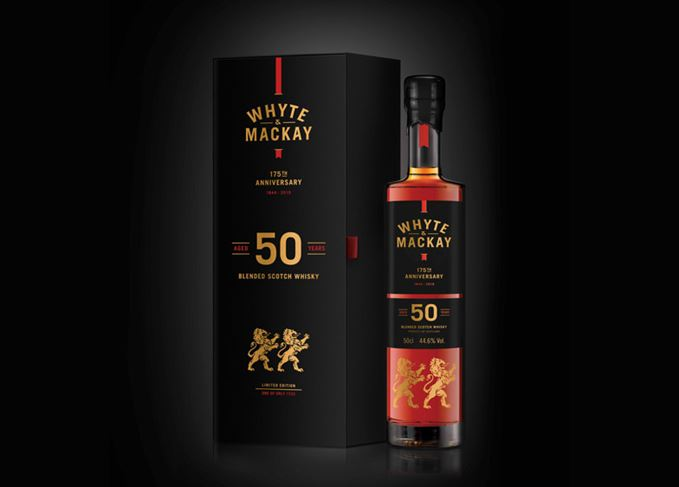 Whyte & Mackay Rare 50 Year Old
