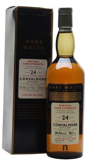 Convalmore 24 Years Old (Rare Malts)