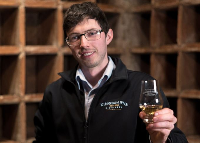 Kingsbarn whisky Peter Holroyd