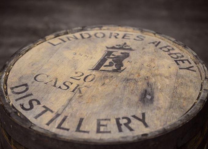 Lindores Abbey cask end