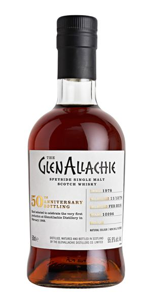 GlenAllachie 1978, 39 Years Old, Cask #10296