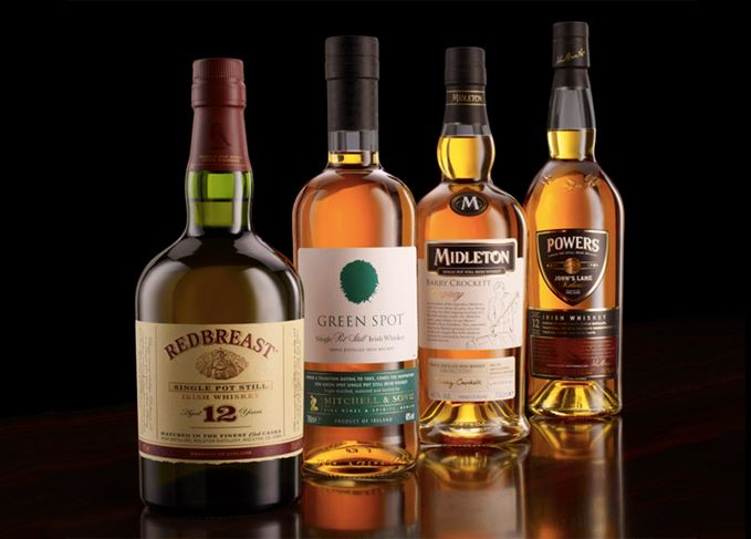 Pot still Irish whiskeys