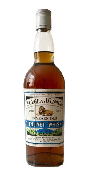 Glenlivet 15 Years Old, 1970s (Gordon & MacPhail)
