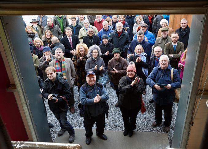 GlenWyvis distillery opening event