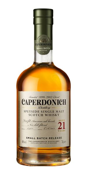 Caperdonich 21 Years Old Unpeated