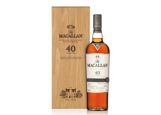 Macallan Sherry Oak 40 Years Old